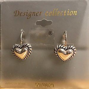 🌸 Heart Earrings